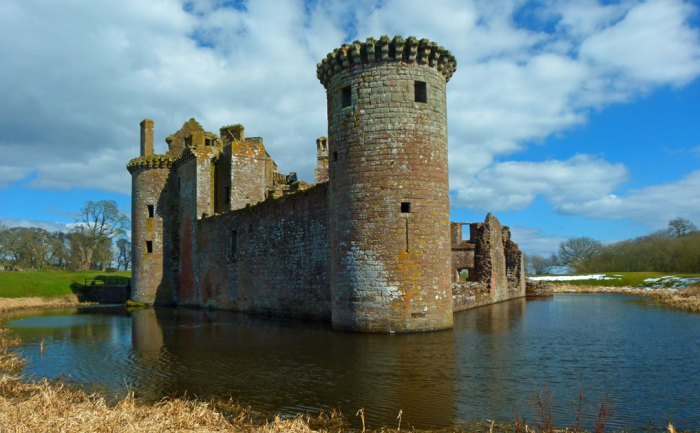 Caerlaverock Castle, Dumfries, Scottish independence