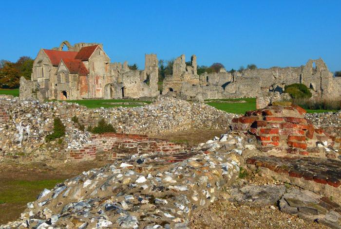 Castle Acre, priory, Norfolk