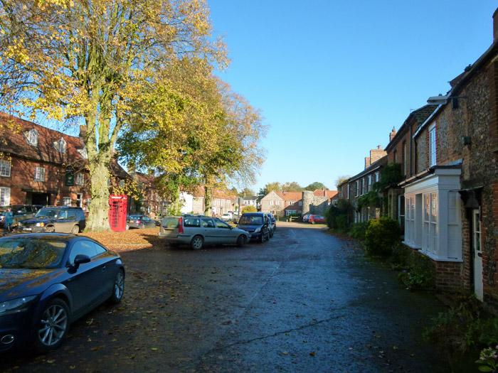 Castle Acre, village, Norfolk