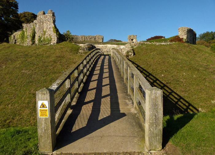 Castle Acre, keep, Norfolk