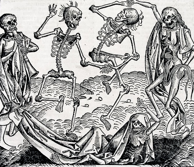 Danse Macabre, dance of death, Plague