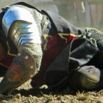 Wounded knight