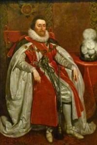 James Stuart, King James VI of Scotland and King James I of England and Ireland.