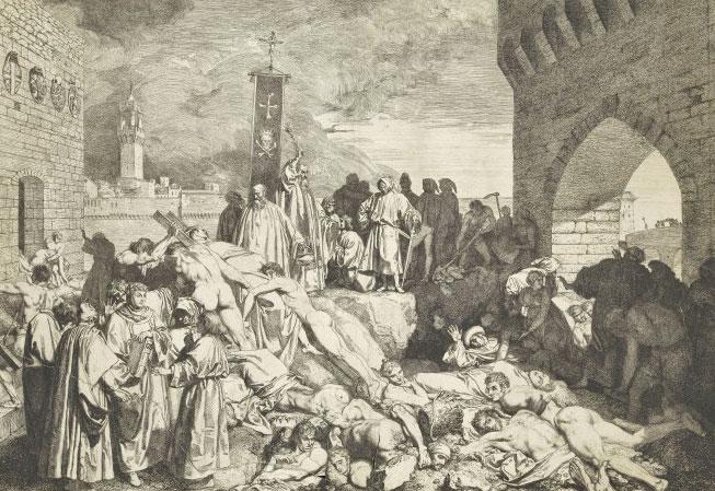 Plague, Boccaccio, Florence