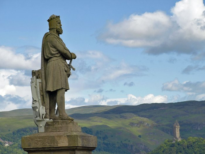 Statue, Robert the Bruce, Stirling, Scottish independence