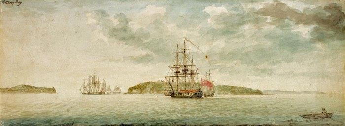 Australia, Botany Bay, 1789, Penal Colony, Charles Gore.