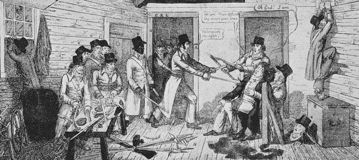 Cato Street Conspiratory, riots, revolution, Britain