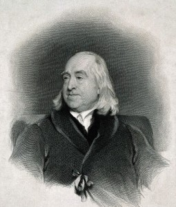 Jeremy Bentham, the Enlightenment, greatest happiness of the greatest number