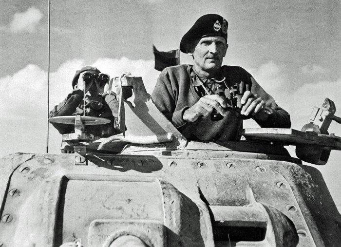 VLt Gen Bernard Montgomery, Second World War