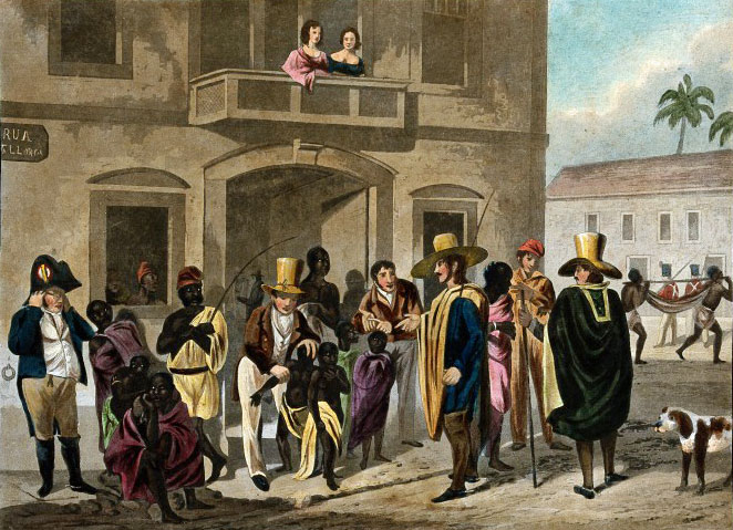 European, slavery, slave market, Rio de Janeiro, British expansion