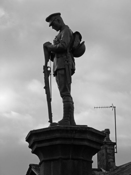 Memorial, Slaidburn, Lancashire, legacy of 1914-18