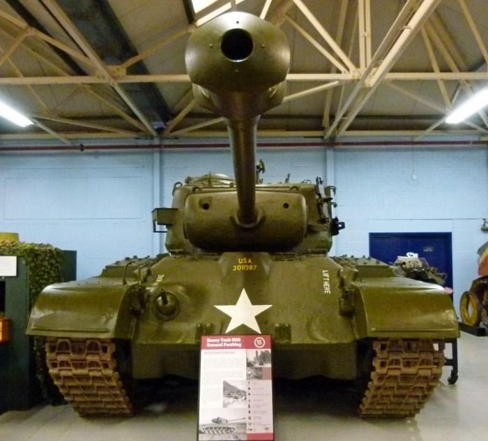 M26 Pershing tank, Bovington