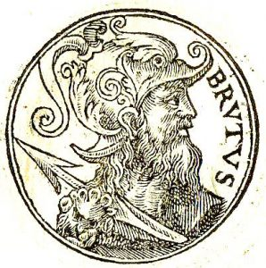 Brutus - Legendary First King of the Britons (Image courtesy of Wikipedia)