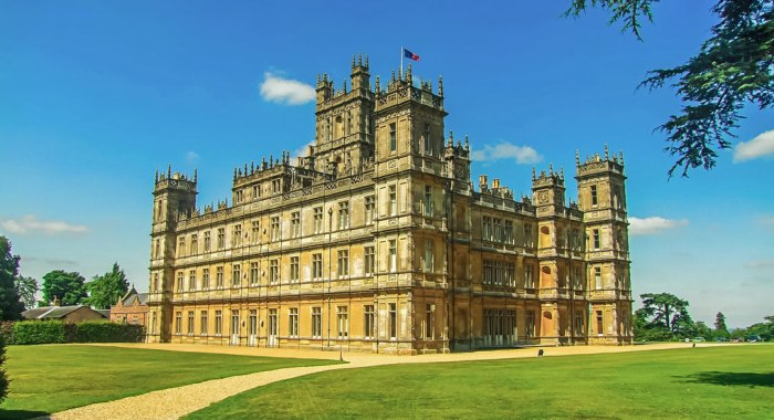 Highclere Castle, Hampshire, South East England