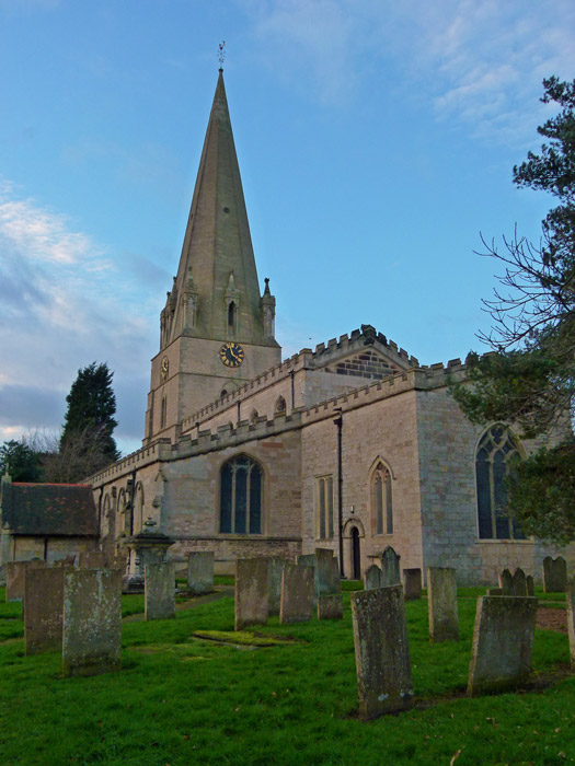 St Mary's, Edwinstowe, where Robin Hood and Marion were married