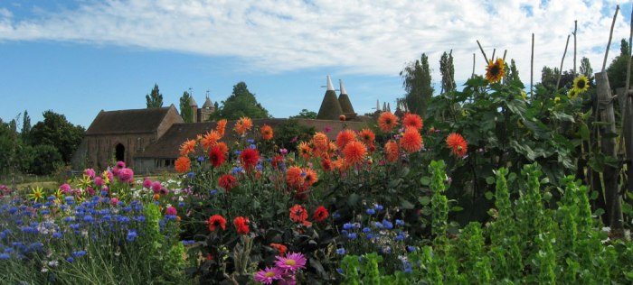 Sissinghurst, oast houses, South East England