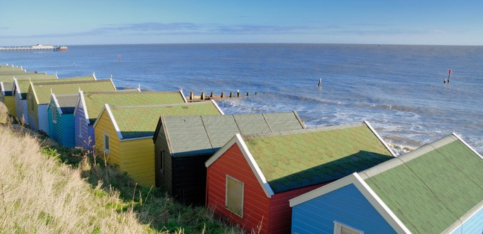 Beach Huts, Southwold, Suffolk, East Anglia