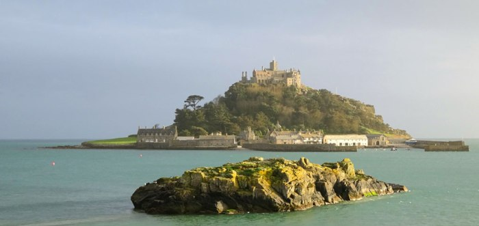 St Michael's Mount, Cornwall, South West England