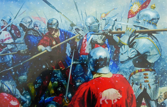 Towton was the longest, largest and bloodiest battle fought on British soil