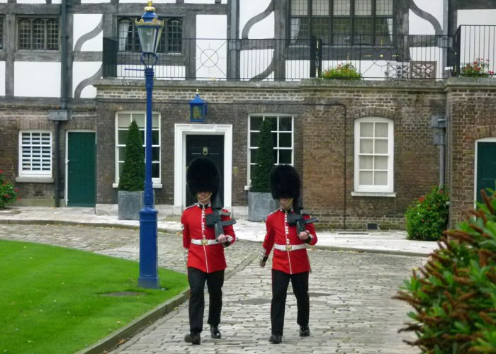 Scots' Guards, Tower Green