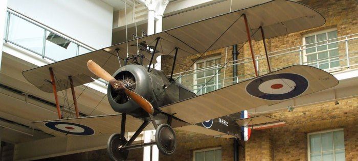 IWM London, Sopwith Camel