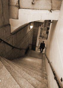Nancy's steps, London Bridge