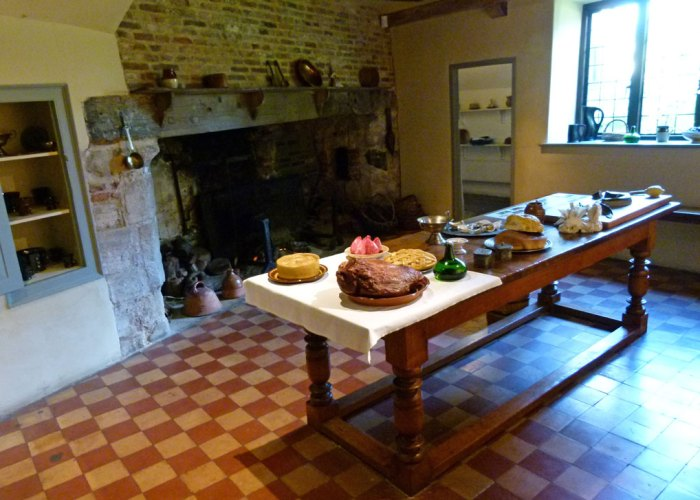 Oliver Cromwell's kitchen, Ely