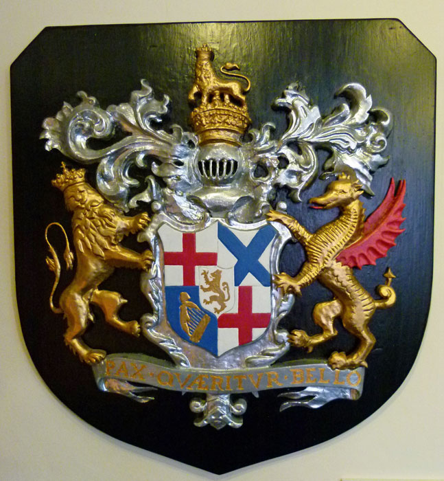 The arms of the Commonwealth