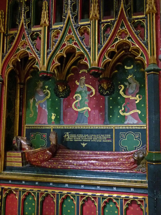 Southwark Cathedral, tomb of John Gower