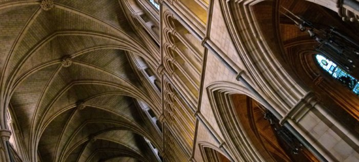 Southwark Cathedral - soaring nave arches