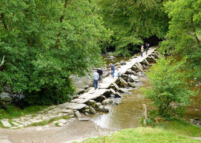 Tarr Steps, Somerset, Exmoor