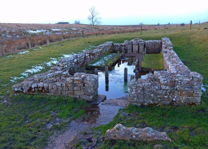 Brocolitia or Carrawburgh Temple of Mithras, Hadrian's Wall, Northumberland