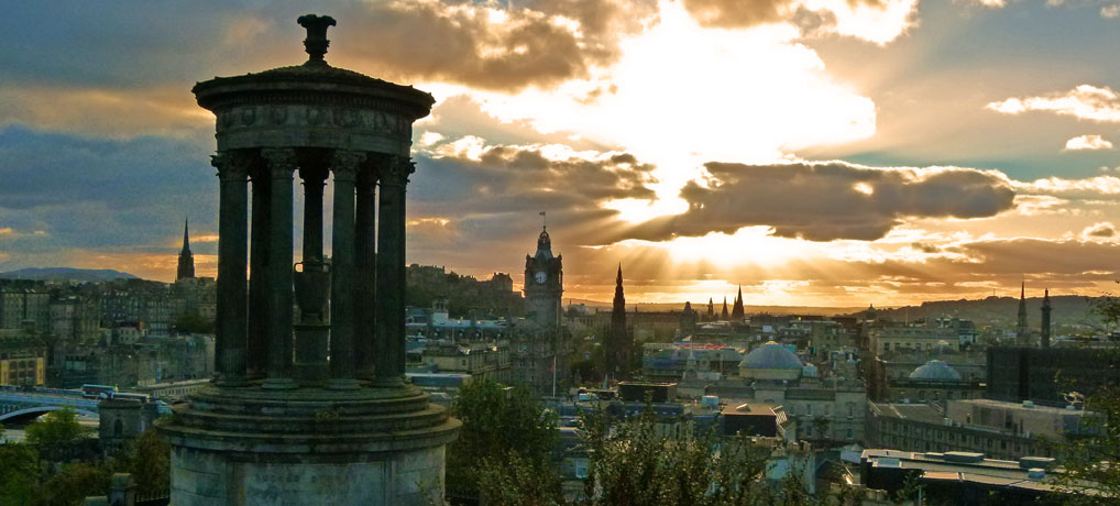 A postcard from Calton Hill