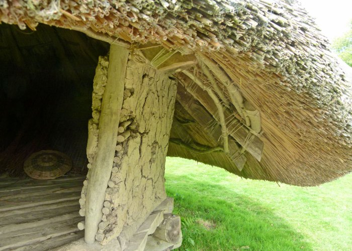 Iron Age construction, wattle and daub