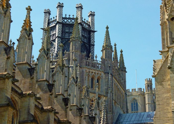 Ely Cathedral, octagonal tower