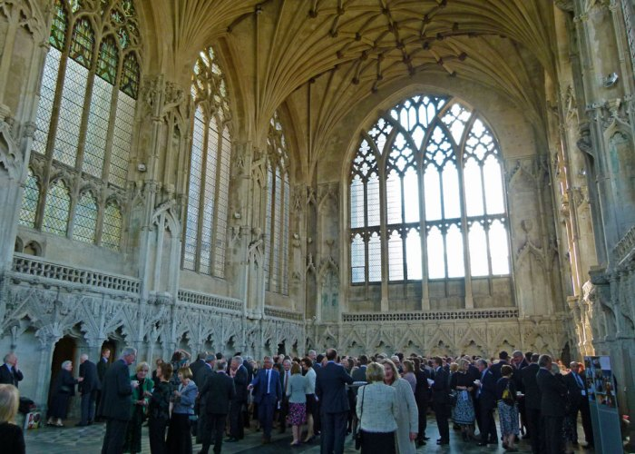 Ely Cathedral's graceful 14th century Lady Chapel