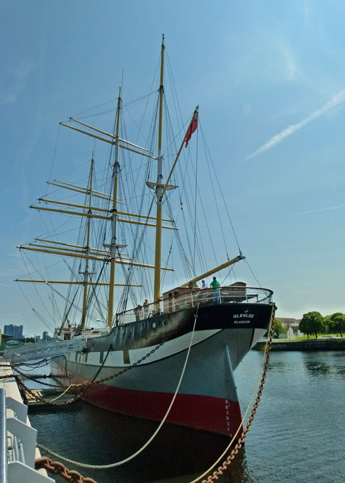SV Glenlee, tall ship, Glasgow