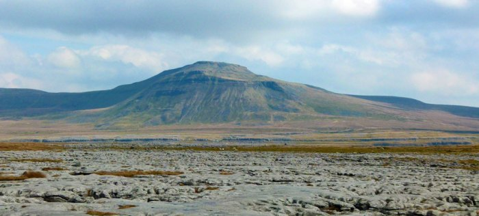 Ingleborough from Twisleton Scar