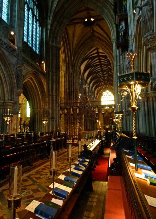 Lichfield Cathedral quire