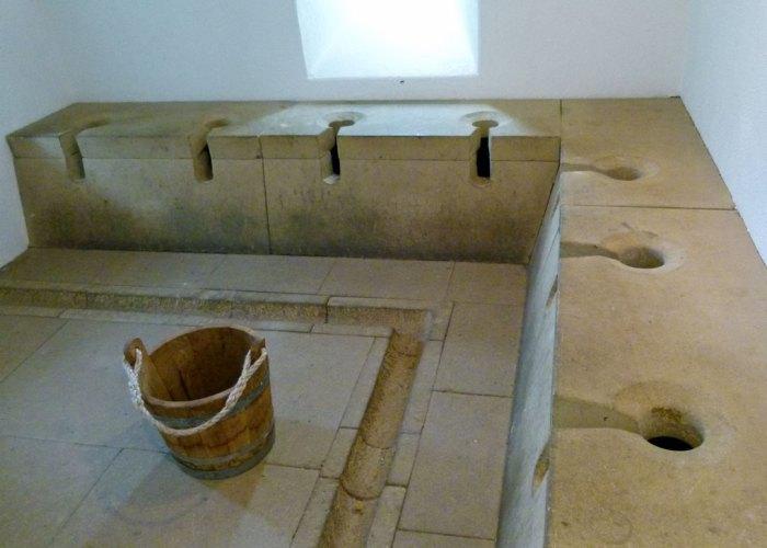 Segedunum, Romam latrine