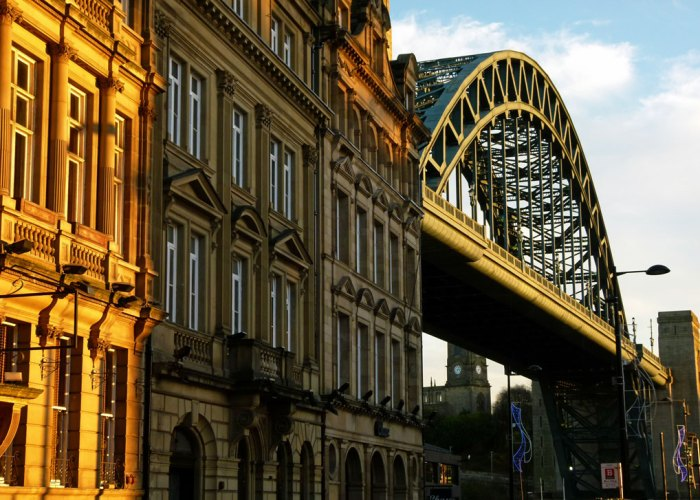 Tyne Bridge from Newcastle