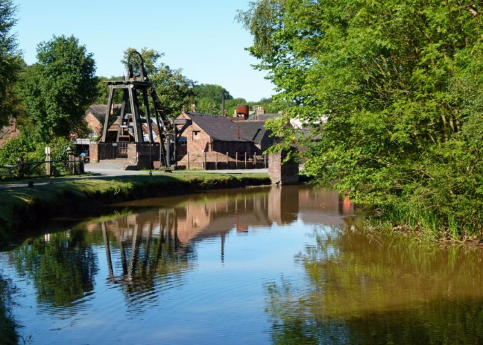 Blists Hill, Shorpshire Canal, mine