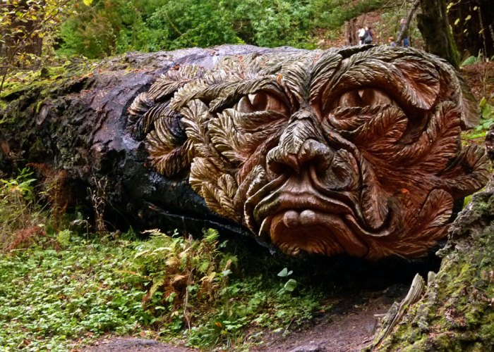 Cragside, carvings, Tommy Craggs