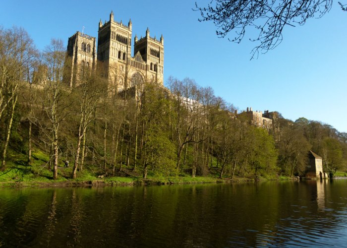 Durham Cathedral near Framwellgate Bridge
