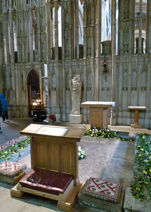 Cuthbert's shrine, Durham Cathedral