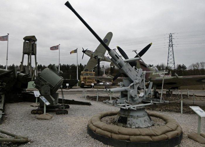 Eden Camp, Bofors, Spitfire, Hurricane