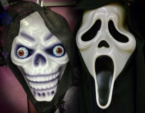 Halloween, masks, Scream