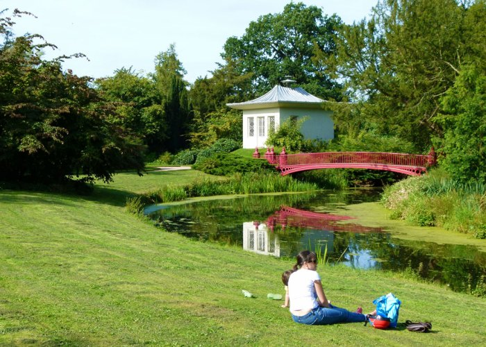 Shugborough, Chinese house, Chinese bridge