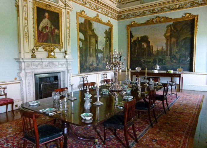 Shugborough Hall, dining room