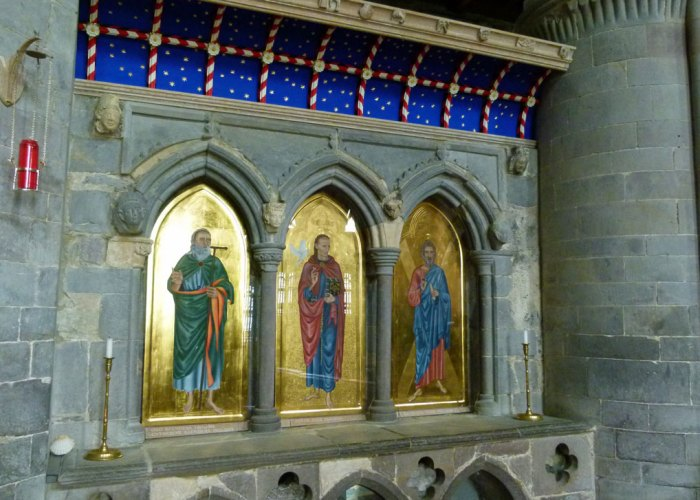 Shrine of St David, St Davids Cathedral